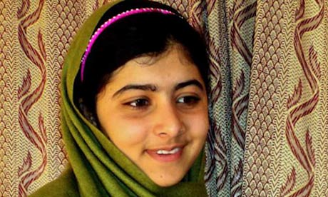 10 Minutes of Brilliance Hero of the Year, Malala Yousafzai, who stood up against the Talibano so girls in Pakistan could go to school, too.