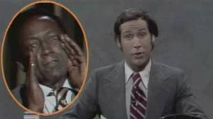 Chevy Chase and Garret Morris announced Franco's death