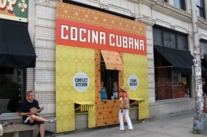 The Cuban version of the Conflict Kitchen highlighted Cuban food and the US embargo