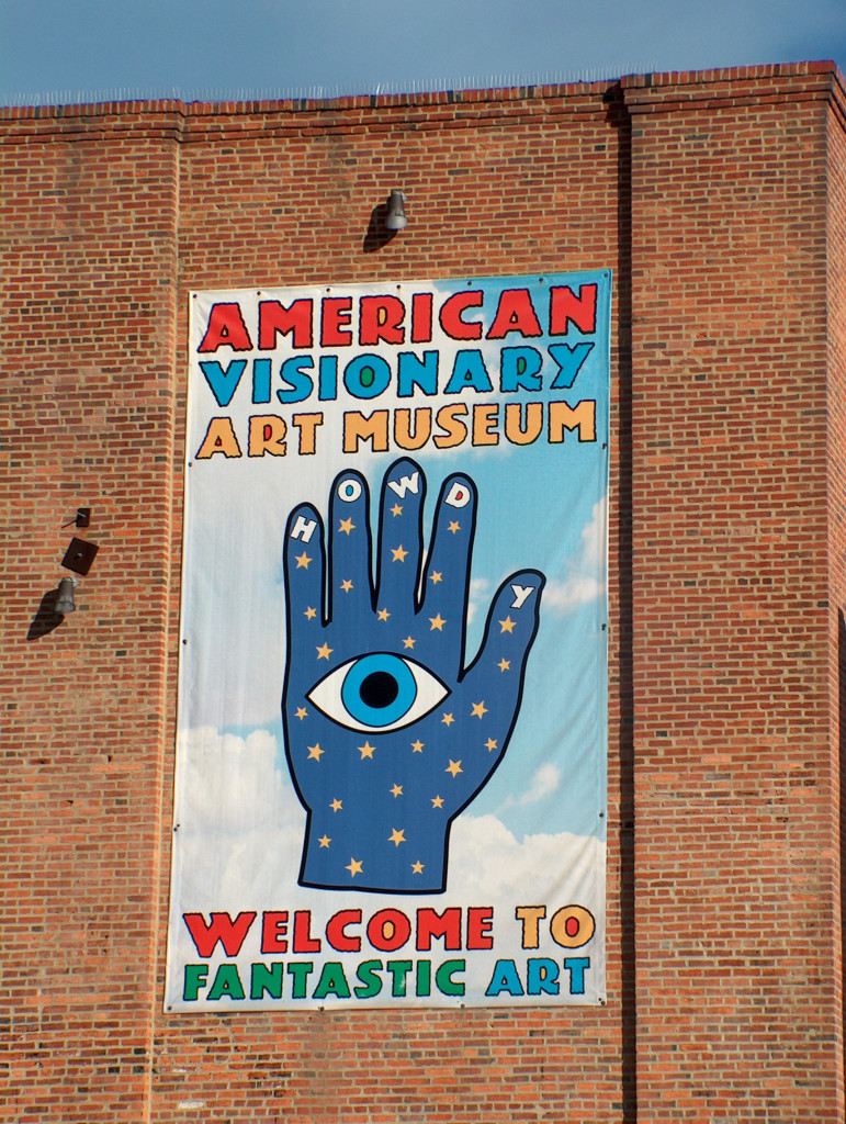 American Visionary Art Museum sign