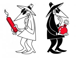 Mad Magazine's Spy vs Spy has come true . Marketers know everything about you