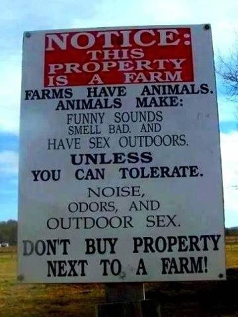 Best Farm Sign