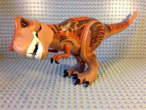 Lego's Diabolus Rex is just one toy of many that has a movie tie-in with the prehistoric feature from Universal this summer.