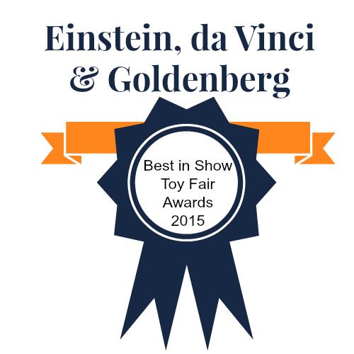 Einstein da Vinci & Goldenberg's Best of Show Toy Fair Awards 2015