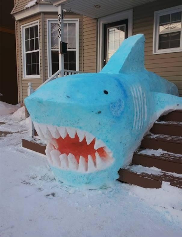 "Erect a tribute to ""Sharknado!"""