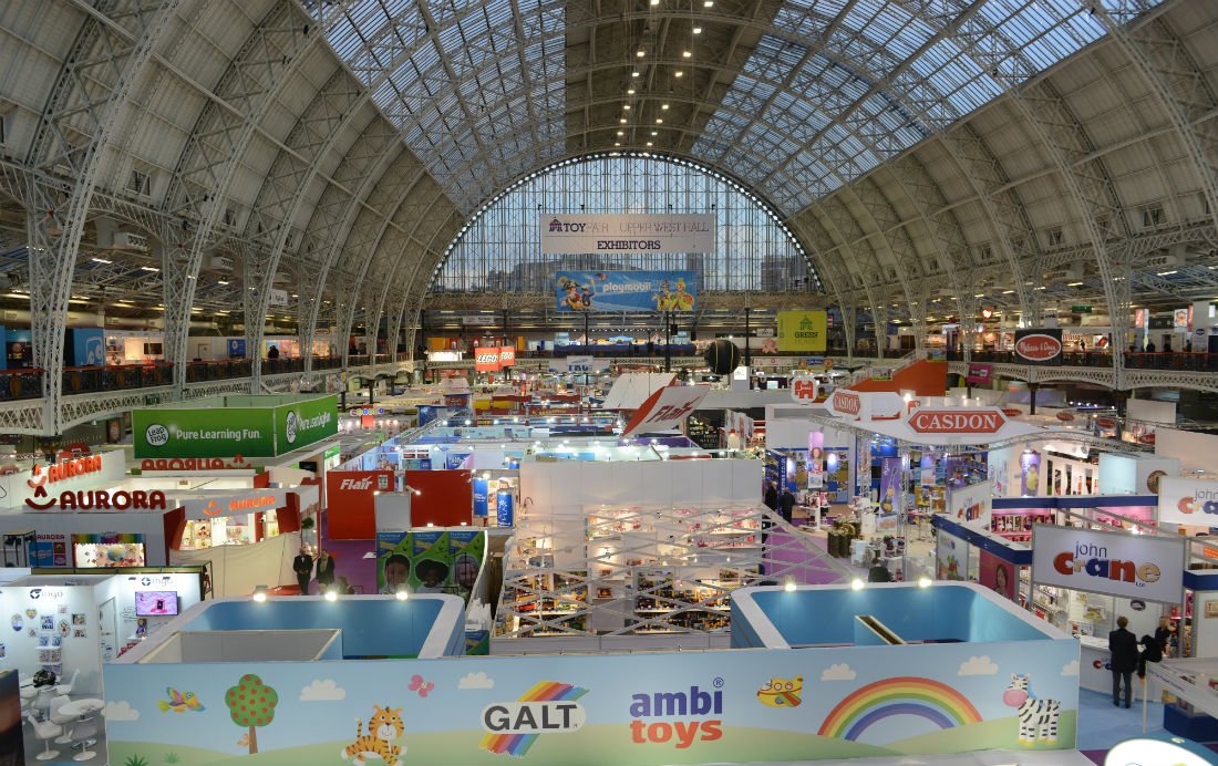 Exhibitors at Toy Fair 2015 displayed over 100,000 toys in a space the size of seven football fields