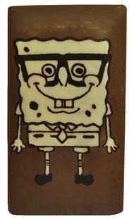 Spongebob Squarepants chocolate bar