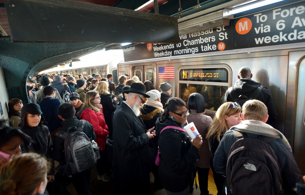 """It is impossible to be on a NYC subway car and not be """"a close talker."""""""