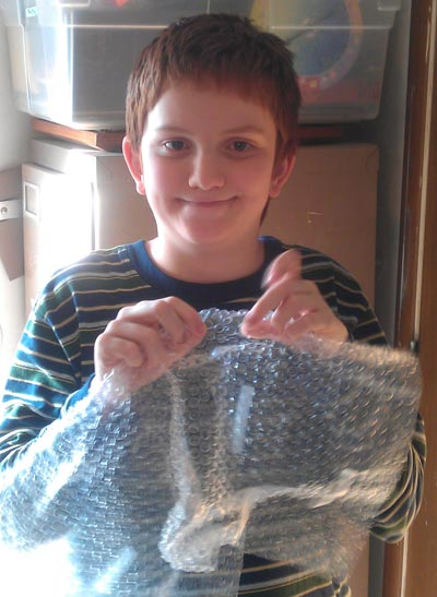 Bubble Wrap fun
