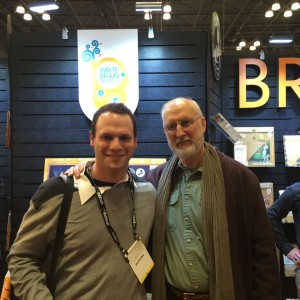 Actor James Cromwell loves to write and was on hand to promote this great toy!