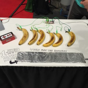 The famous Makey Makey Banana Piano! Playing with your food has never been this fun!