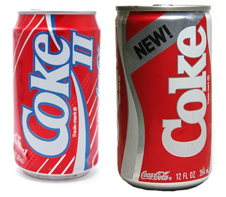 New Coke and Coke II