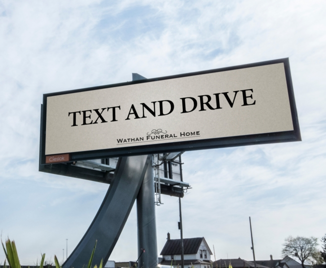 Weird billboard