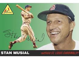 Stan the Man Musial, one of the greatest Cardinals of all time, died this year at 92, two months before he had a chance to elect the new Pope.
