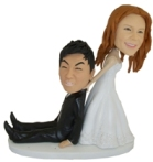 Know someone getting married, having a religious rite like a Bar or Bat Mitzvah or a confirmation, Custom Bobble Head make a unique gift. (Wedding Bobble head $198)