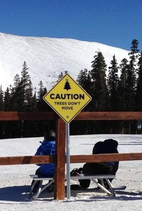 Best Ski Slope Sign