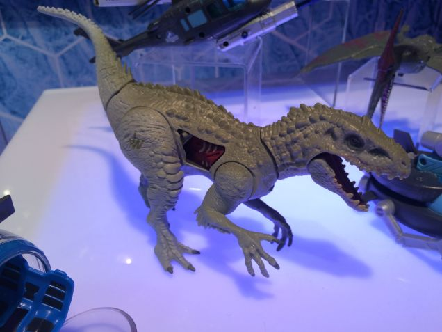 Hasbro created a  Jurassic World toy line led by a dinosaur  you've never beard of,  Indominus Rex.
