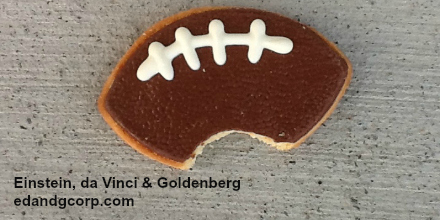 super bowl cookie