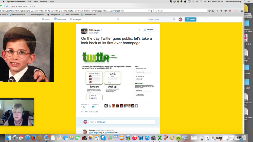 Twitter's first home page lacked the simplicity that made it so ubiquitous