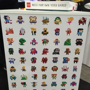 A gallery of pixel art from Bloxels!