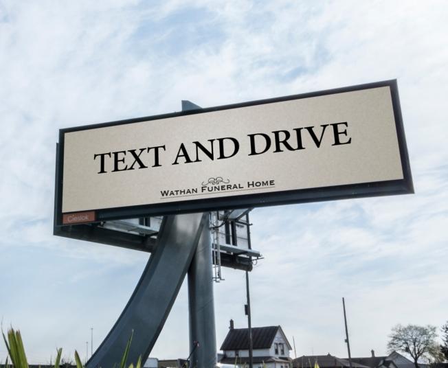 Weird billboard