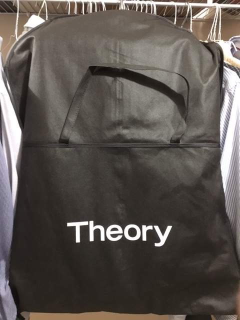 Theory garment bag