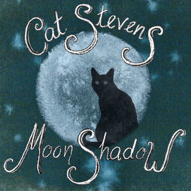 "Cat Stevens' album ""Moon Shadow"""