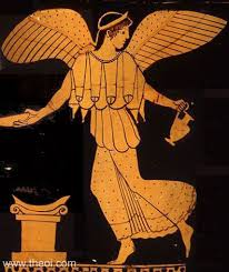 Nike, the Greek goddess of Victory