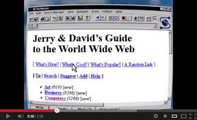 Yahoo, jerry and David Guide to the World Wide Web