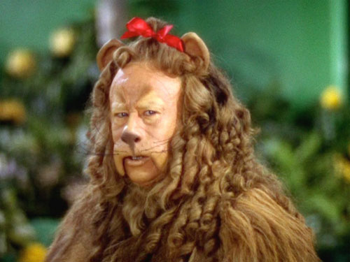 Lion wizard of Oz