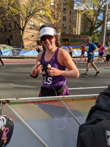 NY City Marathon Runner Meredith Wentz